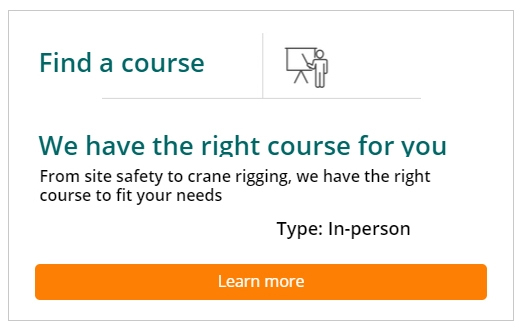 OSHA Find a course