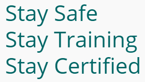 Stay Safe, Satay Training, Stay Certified